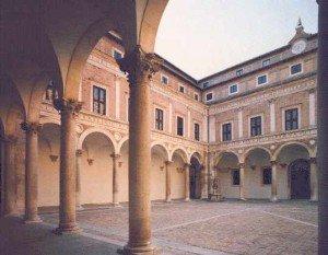 Palazzo Ducale Urbino - Cortile d'Onore