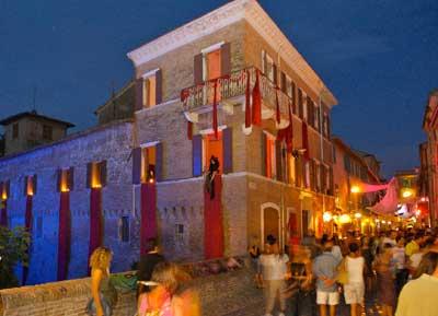 San Giovanni in Marignano - Palazzo Corbucci - Festa della Strega