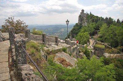 San Marino - Camminamenti