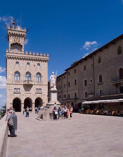 San Marino - Palazzo Pubblico