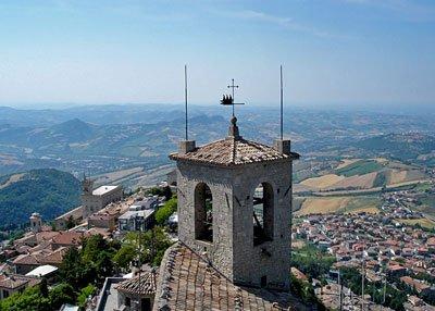 San Marino - vista panoramica