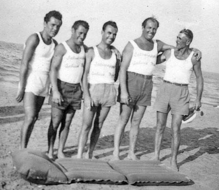 Bagnini di Gabicce Mare - Gabicce Mare anni '50