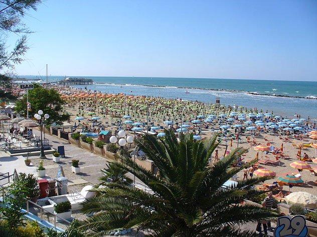 La spiaggia di Gabicce Mare