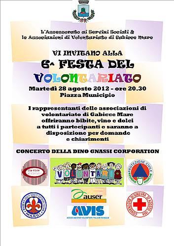 Festa del Volontariato 2012 - Gabicce Mare