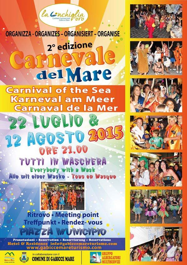 Carnevale del Mare 2015 Gabicce Mare