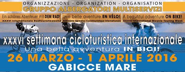 XXXVI cicloturistica gabicce mare 26 marzo-1 aprile 2016